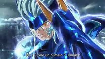 Saint Seiya Soldiers Soul PS3 PS4 Steam Les Guerriers Divins Japan Expo Trailer French