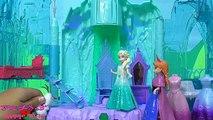 アナと雪の女王 エルサ オラフ ライトアップパレス ディズ�