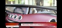 Mercedes S Class Cabriolet INTERIOR AMG S63 Cabriolet INTERIOR CARJAM TV HD 2016