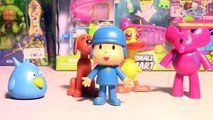 Pocoyo Full Toys Episode in English with his friends Sleepy Bird, Loula, Elly and Pato