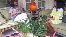 Olga Miranda interviews Frida Larios on National Channel 8 (Part 3 - 3).m4v