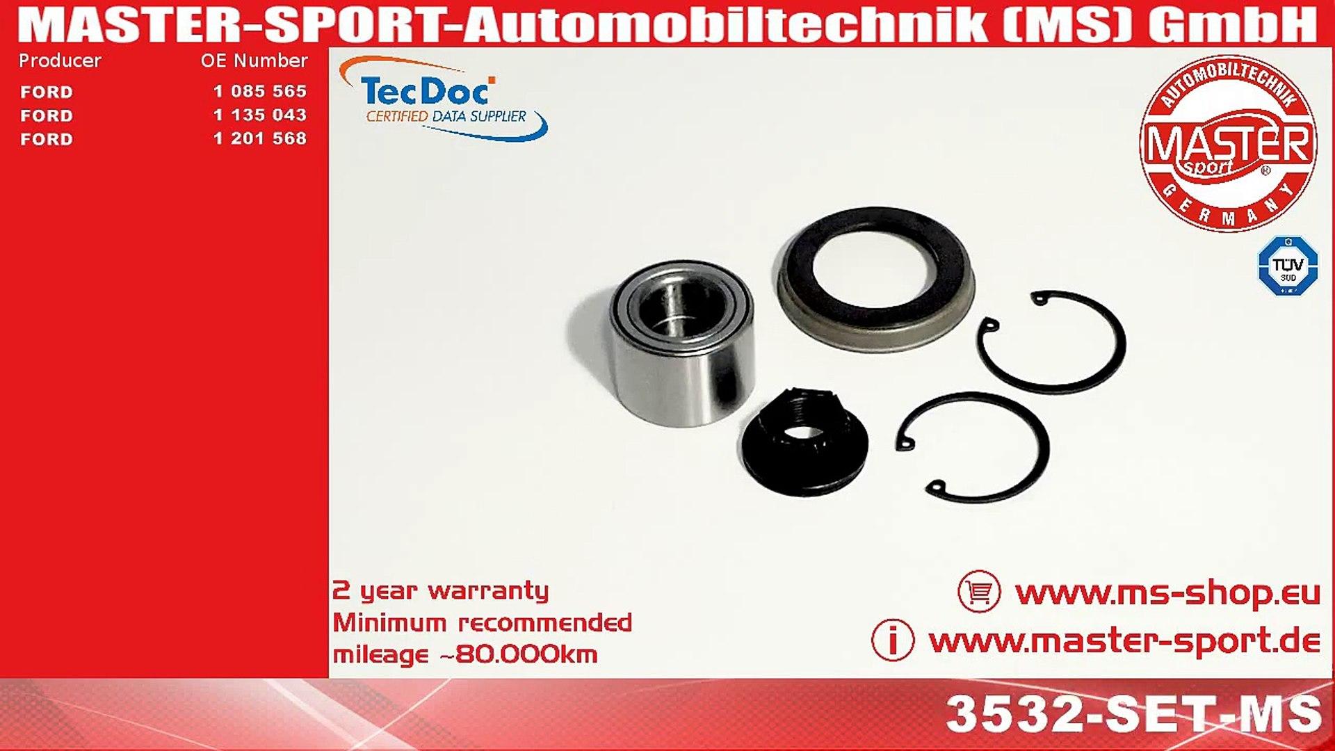 Attwood Wheel Bearing Kit 1-Inch