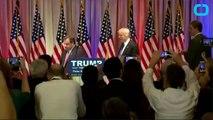 Chris Christie's Eyes Speak Volumes As He Stands Behind Trump