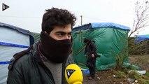 A Calais, des migrants espèrent encore pouvoir passer en Angleterre