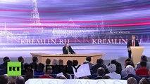 Putin: Ataturk is rolling in his grave over Erdogan's support to islamic terrorists in Turkey