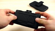 Обзор: Противоударный Чехол для Sony Xperia Z1 Compact D5503 Mini с Подставкой и Крепление