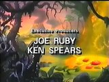Dink The Little Dinosaur end credits with Hanna Barbera logo