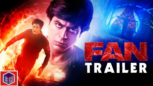 FAN [2016] - [Official Trailer] FT. Shah Rukh Khan [FULL HD] - (SULEMAN - RECORD)
