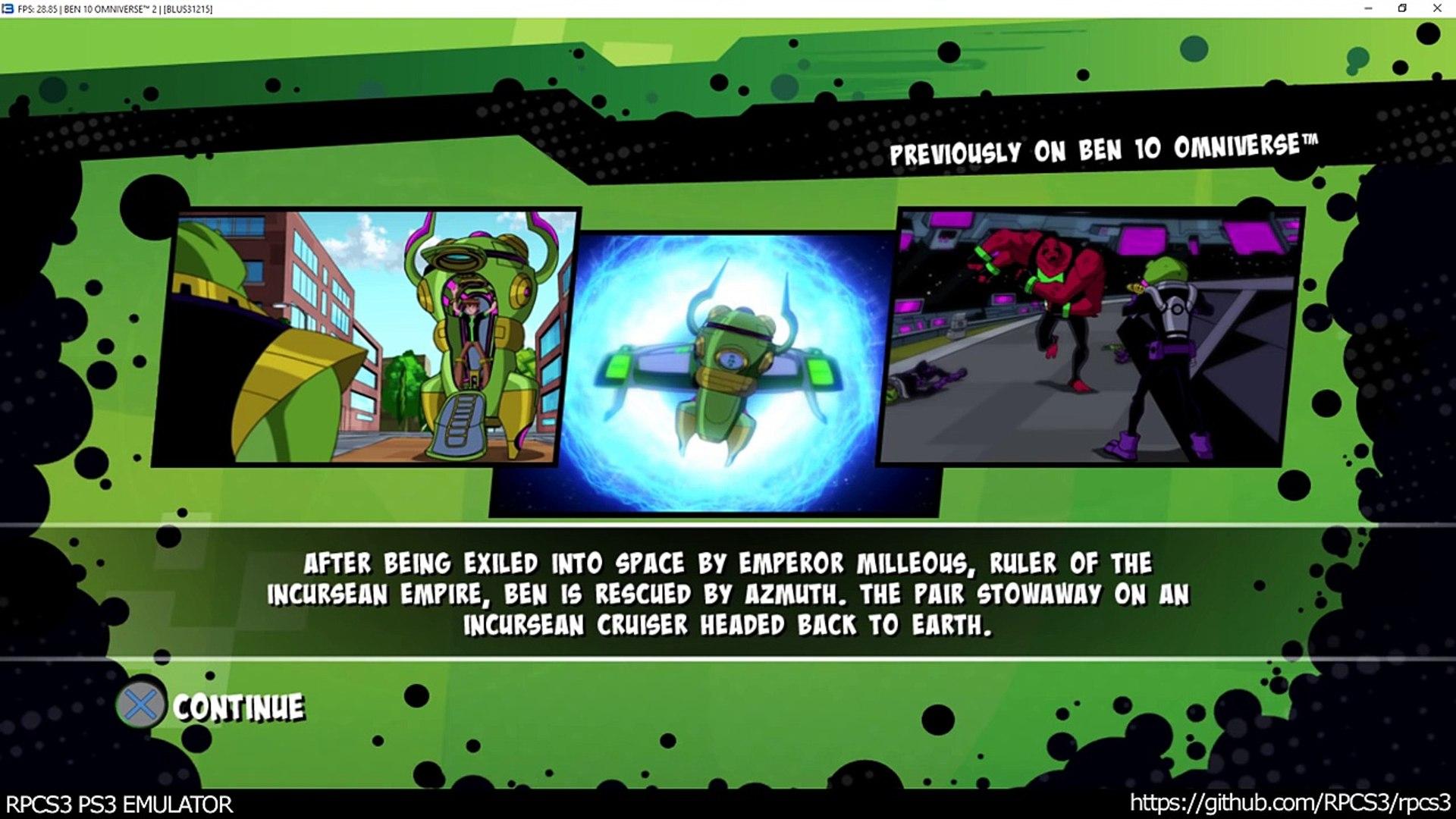 RPCS3 PS3 Emulator - Ben 10 Omniverse 2 Ingame! DX12