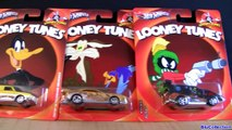 2013 Hot Wheels Looney Tunes Cars Nostalgia Diecasts Bugs Bunny, Tweety, Sylvester, Daffy Duck toys