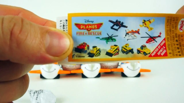 Disney Planes Fire and Rescue Surprise Eggs Airplane toys Verrassing eieren