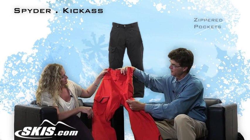 2014 Spyder Kickass Mens Pant Overview by SkisDOTcom