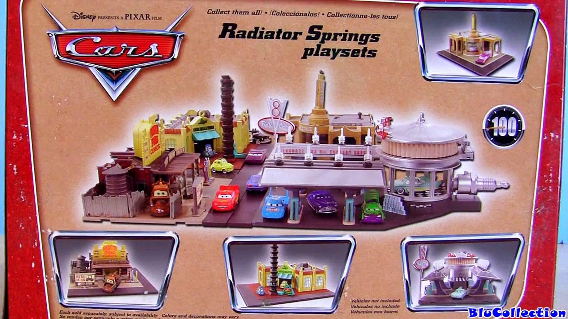 Luigis Casa Della Tires Playset Cars Disney Pixar Radiator Springs Toy Review Luigi Guido Toys Video Dailymotion