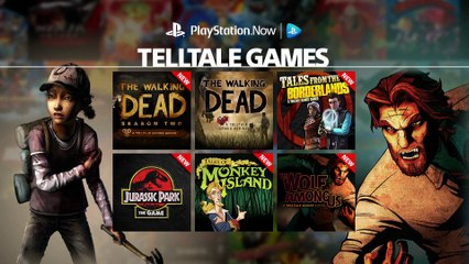 Telltale Games on PlayStation Now Subscription de