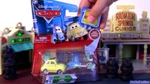 Cars Luigi Guido Chase Edition Luigi with Bucket - Guido with Rollers Tray Disney Pixar toys review