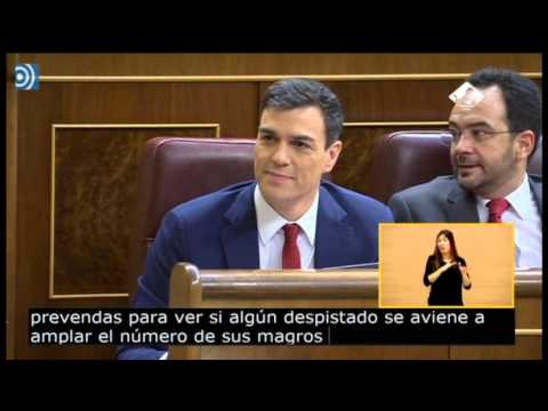 Durísima intervención de Rajoy para decir 'no' a Sánchez