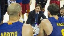 FCB Basket: Declaraciones de Xavi Pascual y Carlos Arroyo, previa Khimki-FC Barcelona Lassa
