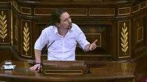 """Iglesias acusa Sánchez de una """"actitud miserable"""" por utilizar la memoria de las víctimas del terrorismo"""
