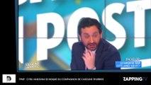 TPMP : Cyril Hanouna se moque du présentateur du Bachelor et compagnon d'une chroniqueuse de l'émission (vidéo)