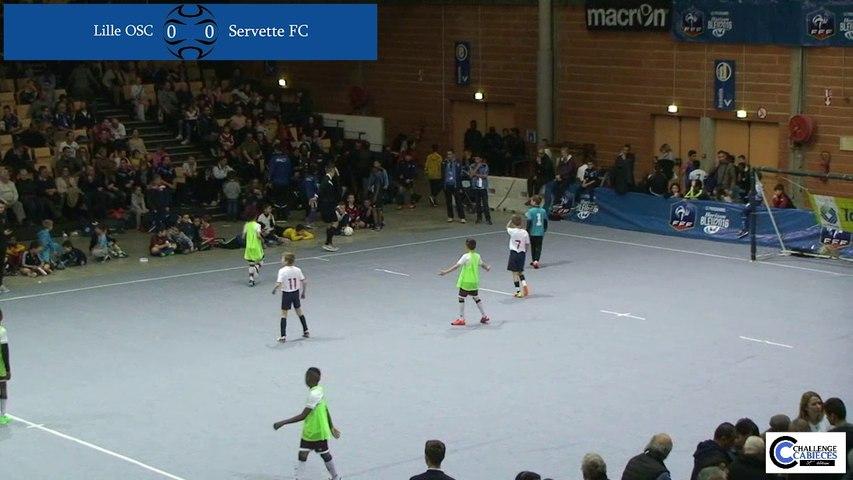 Lille OSC / Servette FC - Match pour la 3ème place 2016