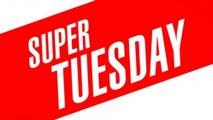 Super Tuesday Wins, Donald Trump, Hillary Clinton, Bernie Sanders, Ted Cruz