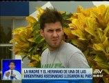 Hermano de María José Coni encara a la Policía por investigación del crimen