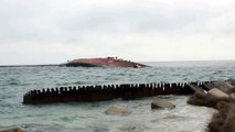 Ukraine War Russian navy sunk BOD Ochakov to block Ukrainian fleet in Crimea Ukraine