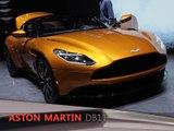 Aston Martin DB11 en direct du salon de Genève 2016