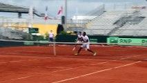 Coupe Davis 2016 - Le duel Tsonga/Gasquet contre Monfils/ERV sous le yeux de Noah