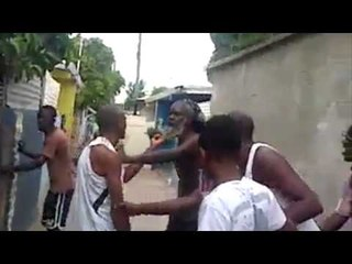 Two Jamaicans Fighting??