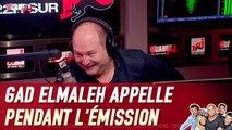 Gad Elmaleh appelle pendant l'émission et met un vent à Cauet - C'Cauet sur NRJ