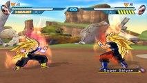 DragonBall Z (AF): Super Saiyan 3 Trunks (Adult) VS SS3 Goten (Adult)