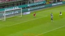 Милан - Алессандрия 5-0 (1 марта 2016 г, 1/2 финала кубка Италии)