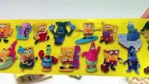 SpongeBob Eggscellent Kinder Surprise Chocolate bunny Eggs Unboxing gift toy - kidstvsongs