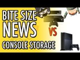 Console Storage Wars PS4 and Xbox Step Up Their Storage   Bite Size News