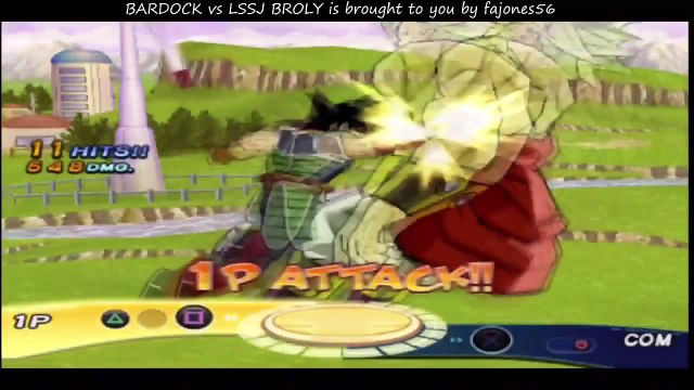 Dragon Ball Z Budokai 3 Bardock VS. Legendary Super Saiyan Broly (LSSJ Broly) [HD]