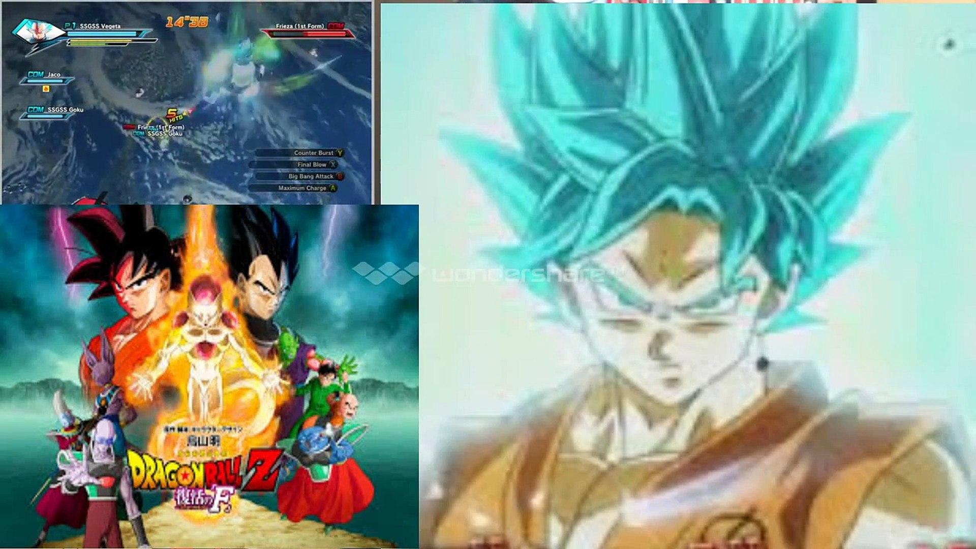Super Saiyan God 2 Vegeta Vs Golden Frieza Dragon Ball Z