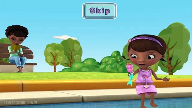 Doc McStuffins Full Game Episode of Melinda's Making a Splash - Complete Walkthrough