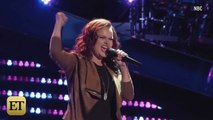 Christina Aguilera Shocks The Voice Coaches and Kisses a Female Contestant
