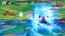 Vegeto Blue Super Saiyan God VS Golden Metal Cooler (Dragon Ball Z Budokai Tenkaichi 3 mod)