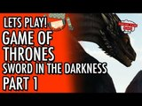 Game of Thrones - Telltale - Episode 3 - The Sword In The Darkness - Part 1 #LetsGrowTogether