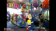Caillou goes to Chuck e Cheese and gets grounded