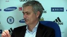 Jose Mourinho enjoyed Samuel Etoos old man goal celebration