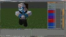 KaMeHaMeHa - DragonBall Z Minecraft Animation Timelapse + Animation