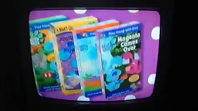 Opening To: Blues Clues Blues Big Musical Movie 2000 VHS
