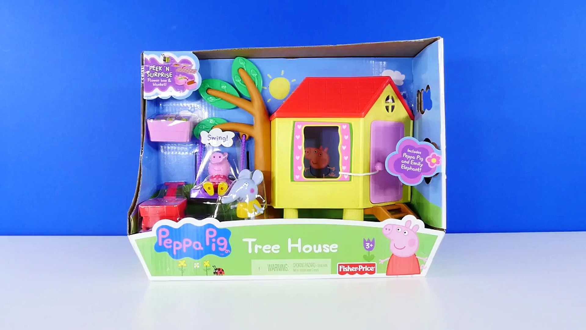 Peppa Pig Tree House Episodes With Peppas Friend Emily Elephant Peppapig Toys Dctc
