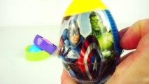 Big Surprise Eggs Frozen Dino Slim Surprise Egg Superheroes Toys Unboxing Surprise Eggs and Toys