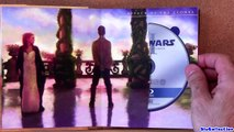 Star Wars blu ray Complete Saga unboxing review Region FREE 9-disc blu-ray
