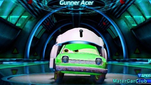 Gunner Acer Disney Pixar Cars Color Changers Custom Paint ...