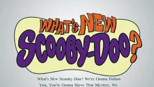 Simple Plan, Whats New Scooby-Doo? Lyrics